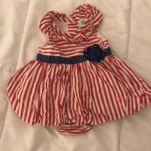 Baby girl 4th of July dress